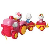 HELLO KITTY Pull Along Train [7065003] - Mainan Simulasi